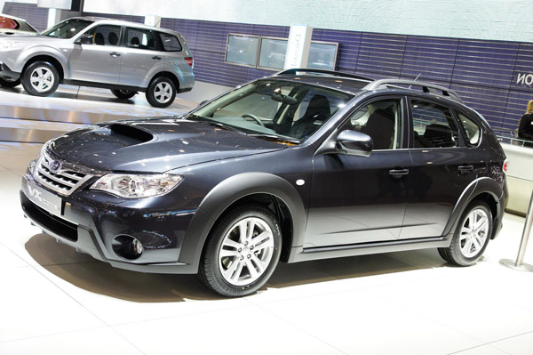 The Impreza XV Mizuno will be