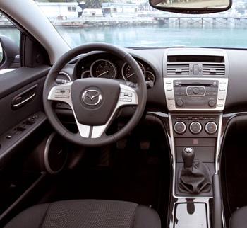 Mazda 6 универсал испытание италией