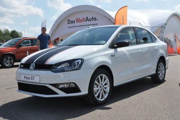 VW Polo остался лидером компании в РФ