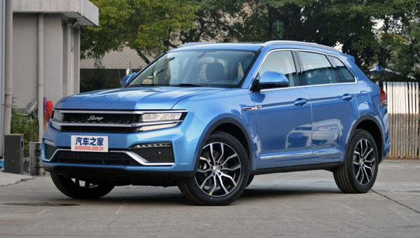 Китайский клон VW Cross Coupe GTE получил новейшую трансмиссию