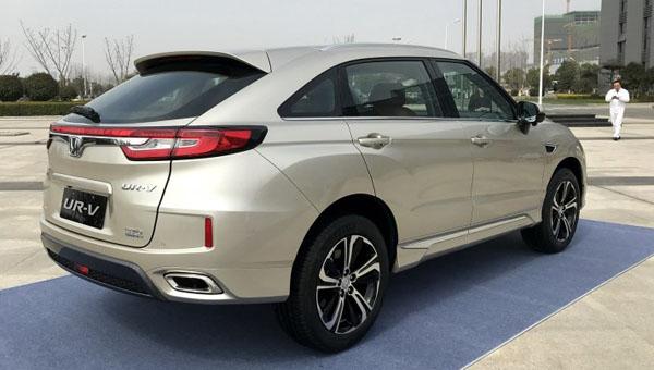 Стартовали продажи кросс-купе Хонда  UR-V на рынке Китая