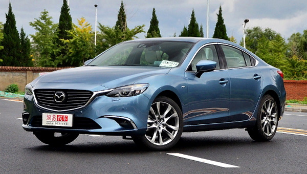 В КНР начались продажи обновленной Mazda6