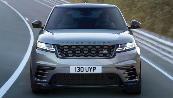 Новый Range Rover Velar показал салон