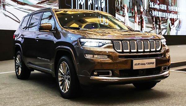 Jeep раскрыл новый семиместный джип  Grand Commander