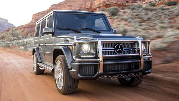 Объявлена дата презентации обновленного поколения брутального Mercedes G-Class