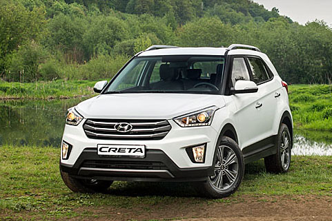 Дилер Hyundai начал принимать заказы на новый кроссовер Hyundai Creta