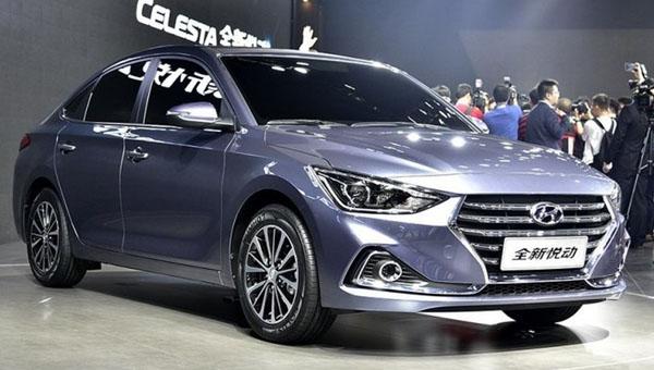 Компания Хюндай  тестирует вФинляндии новый седан Celesta