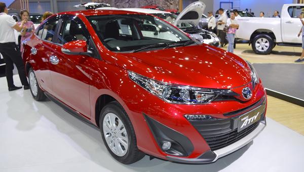 Компания Тойота навыставке Auto Expo 2018 представит бюджетный седан Vios