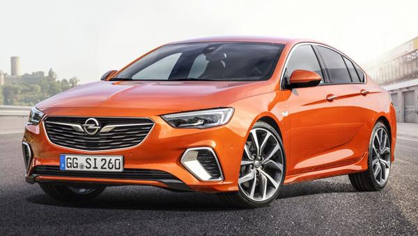 В Европе стартовали продажи нового автомобиля Opel Insignia GSI