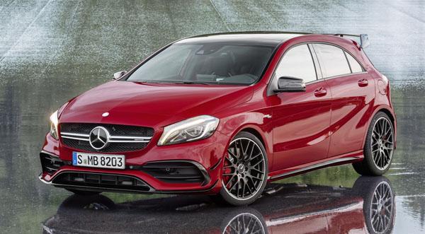Хэтчбек Mercedes-AMG A45 получит 400-сильный мотор V4