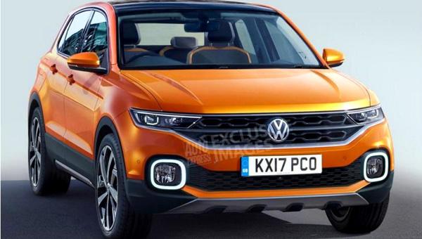Volkswagen официально подтвердил выход паркетника T-Cross в 2018 году