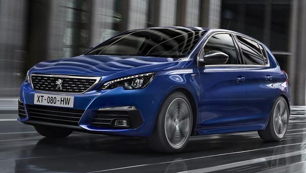Марка Peugeot (Пежо) показала новый хэтчбек иуниверсал 308
