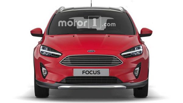 Кросс-версия Форд Focus обновленного поколения: первые фото