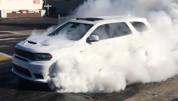 ВСША назвали цену «заряженного» Dodge Durango SRT 2018