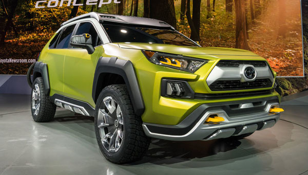 Брутальный «внедорожник» Toyota FT-AC получит серийное воплощение class=