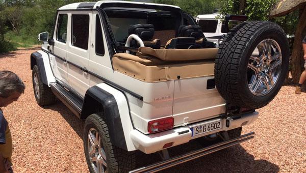 Новый вседорожный автомобиль Maybach сделали из Мерседес-Бенс Gelandewagen