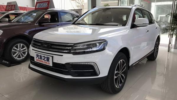 В КНР стартовали продажи кроссовера Zotye T600 Coupe