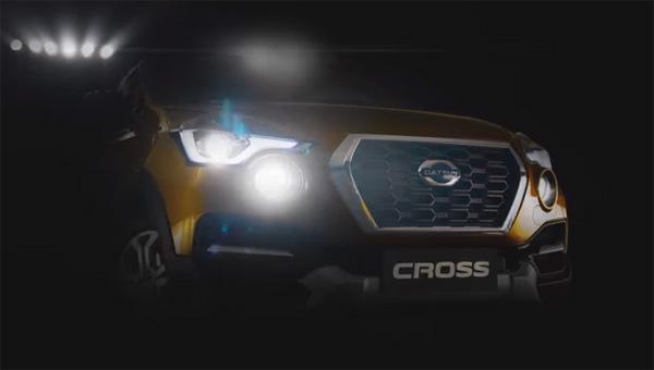 Первый кроссовер Datsun рассекречен навидеозаписи