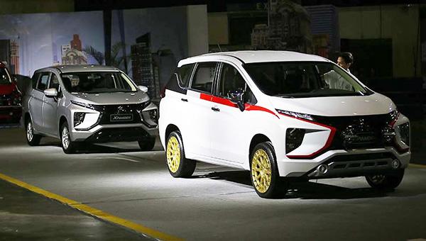 Mitsubishi вывела нановый рынок 7-местный минивэн Mitsubishi Xpander