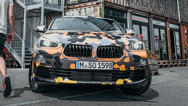 Опубликованы официальные фото нового кросс-купе BMW X2