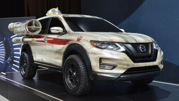 Новости Звездных Войн (Star Wars news): Nissan сделал звездолет из кроссовера X-Trail