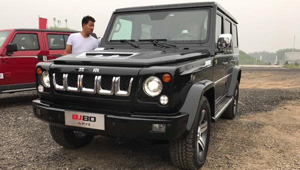 Джип Beijing BJ80 получил юбилейную спецверсию