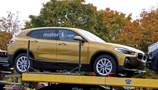 Серийный кроссовер BMW X2 заметили без камуфляжа