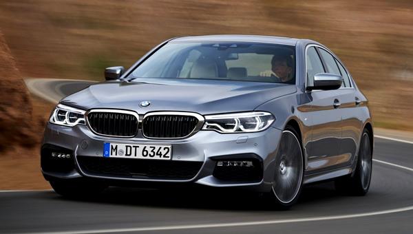 BMW начнет продажи в России новых версий 3-Series и 5-Series