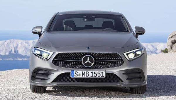Benz CLS обновленного поколения: известны цены