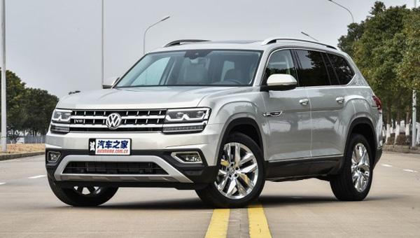 Продажи полноразмерного Volkswagen Teramont стартуют 22 марта