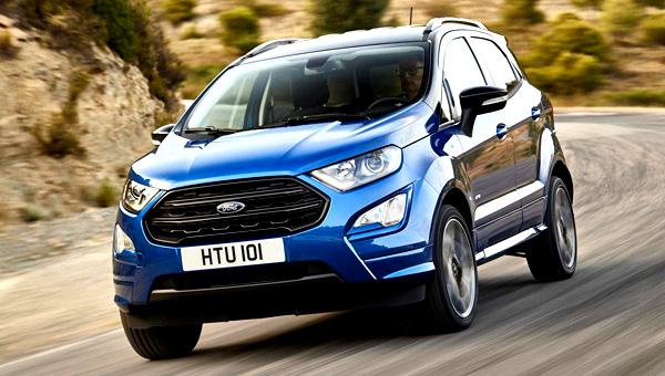 Европейский кроссовер Ford EcoSport «встал» на конвейер