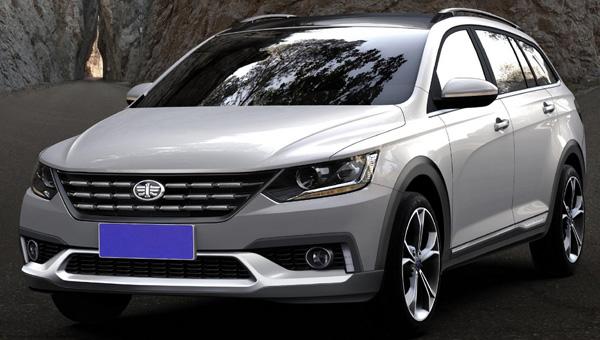 Китайская FAW создала кросс-универсал встиле VW