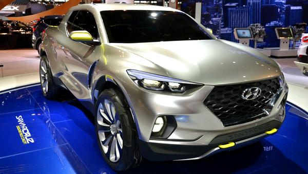 Hyundai планирует выпустить первый пикап в 2021 году с конвейера в США