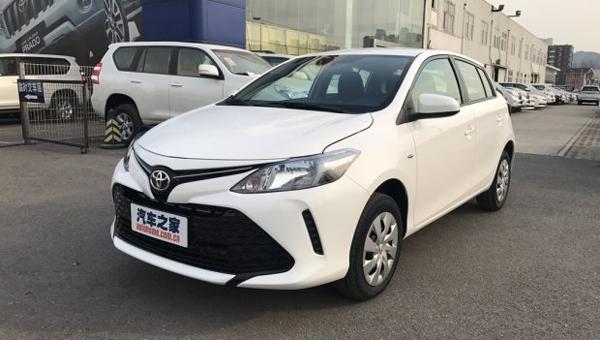 На рынок китая выходит новый хэтчбек Тойота ViosFS
