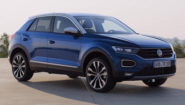 Стоимость VW T-Roc 2018 составила 20 390евро