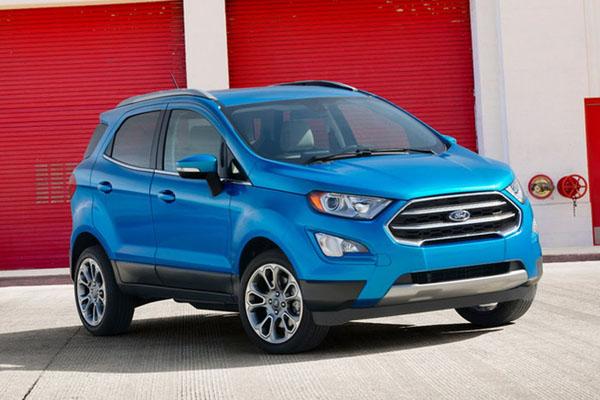 Форд EcoSport презентовали вЛос-Анджелесе