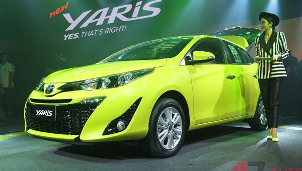 Тойота представила новейшую модификацию Yaris