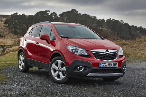 В России отзывают кроссоверы Opel Mokka