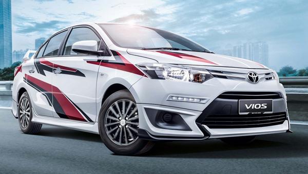 Новый седан Тоёта Vios получил фирменный тюнинг отTGR