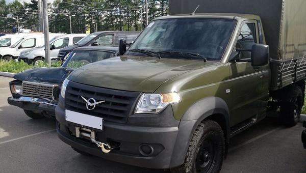 Представители Ульяновского Автозавода начали прием заказов нановый УАЗ Профи