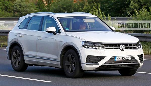 Новый VW Touareg дебютирует весной 2018 года