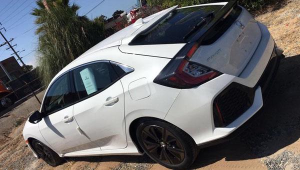 Улучшенный Хонда Civic поступит в реализацию весной текущего 2017-ого