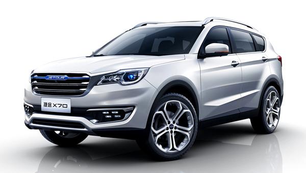 Jetour как «дочка» Chery: SUV X70 будет представлен вближайшее время