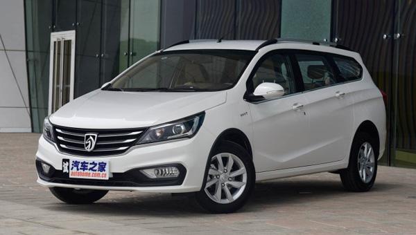 Названы цены на общедоступный  универсал Baojun 310