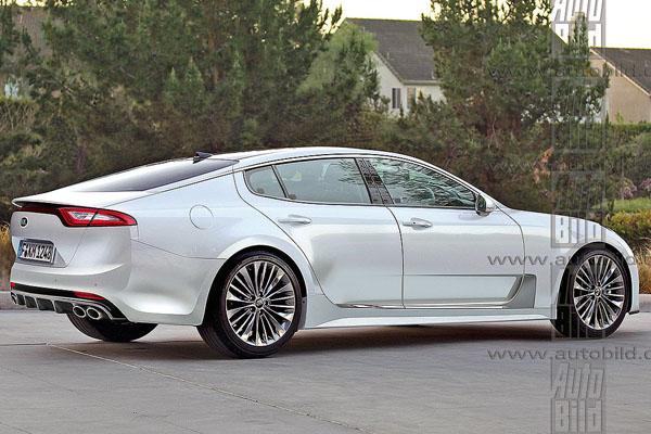 Kia сделает конкурента Audi A5