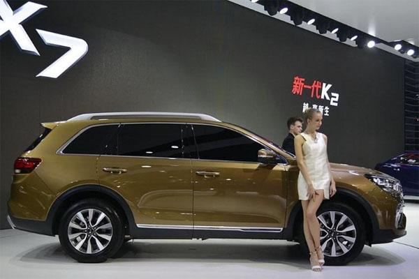 Киа представила вГуанчжоу новый кроссовер KX7