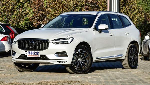 Размещены цены нового джипа Вольво XC60