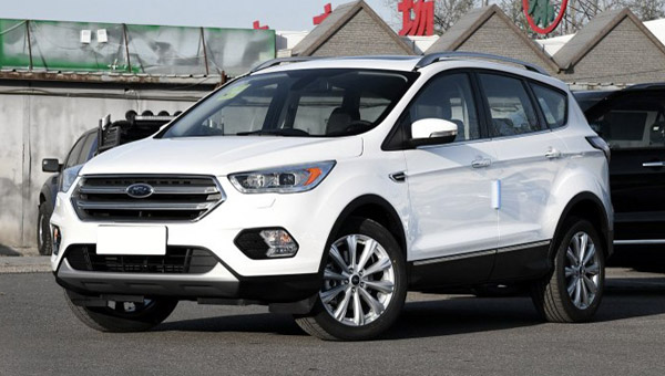 Форд объявил о понижении цен анрестайлинговый Kuga