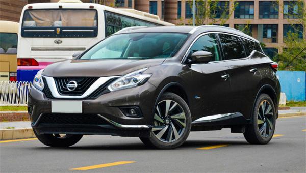 Появились фото обновлённого Nissan Murano (+ видео)