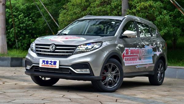 Dongfeng нарынке Китайская республика начинает продажи рестайлингового Dongfeng 580